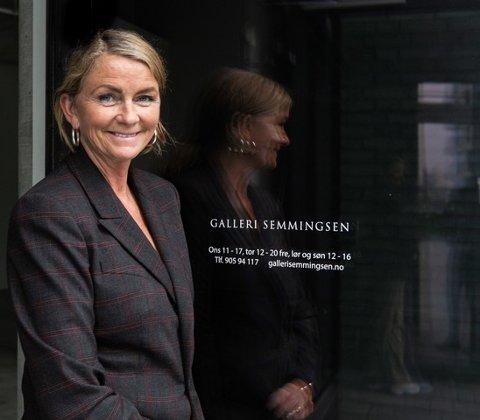 EGET GALLERI: I år er det 20 år siden Astrid Hilde Semmingsen etablerte seg med Galleri Semmingsen i Oslo.