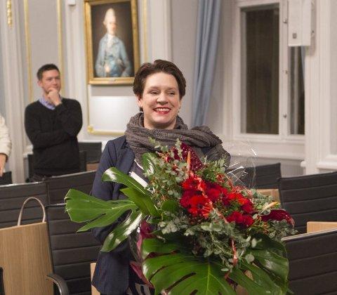 Marte Mjøs Persen er byens nye ordfører, og sier at hun vil være en ombudskvinne for alle bergensere uansett bakgrunn.