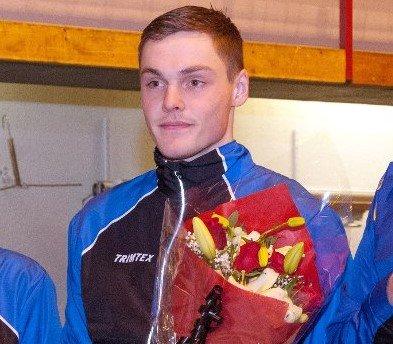 Magnus Vesterheim var en av mange lokale deltakere i Birkebeinerrennet. (Foto: Jostein Eldevik)