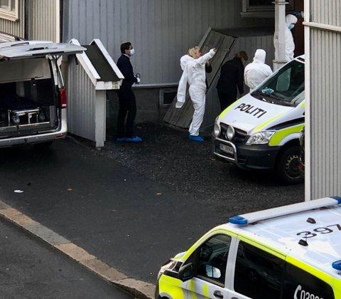 Kvinnen i 30-årene ble funnet død i leiligheten sin onsdag.