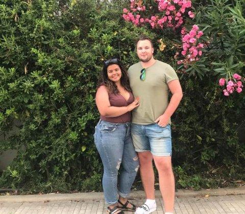 FUNNET KJÆRLIGHETEN: Even Sørli dro for å jobbe og drive med musikk, men har til og med funnet kjærligheten i Lisboa med Rachelle.