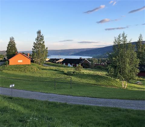 Dette er området Borettslaget Hammerseng 1 jobber for å bevare som lekeplass.
