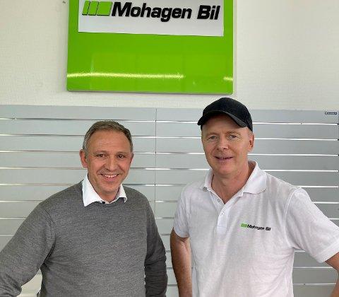PÅDRIVERE OG EIERE: Kjetil Gulbrandsen og Ole Jan Stubberud har vært pådrivere for å danne en større enhet. Nå er det en realitet.