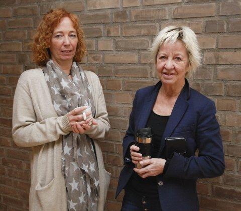 UENIGE: De tillitsvalgte Lillian Bakken Iversen (t.v.) og Karin Henriksen er uenige om valg av modell. Sistnevnte hørte til flertallet i utvalget.
