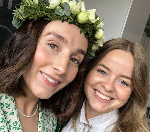 FLYTTER FOR JOBBEN: (F.v) Noa Lilith Wengorz (24) og Unn Iveland Jacobsen (24) flytter fra Trondheim til Kabelvåg for å jobbe som lærere.