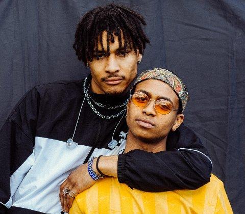 TRONDHEIMSKLARE: Dutty (t.v.) og Isah skal opptre under festivalen Festningen til sommeren.