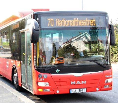 Det skal gjøres endringer på busslinje 70, med ny endeholdeplass og flere busser, som forhåpentligvis vil føre til færre forsinkelser.
