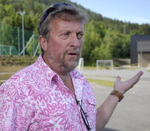 Bekymret: Rektor ved Sundvollen oppvekstsenter, Harald Helleseter, mener det blir vanskelig å opprettholde et godt skoletilbud med kutt i budsjettet.