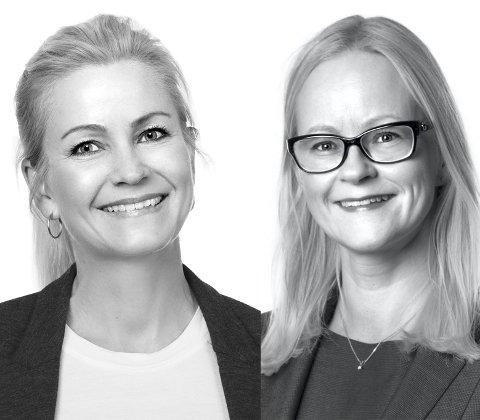 Advokatene Lene Tønset og Camilla Myhrer Abrahamsen svarer på ukas spørsmål. Foto: Studio Oscar