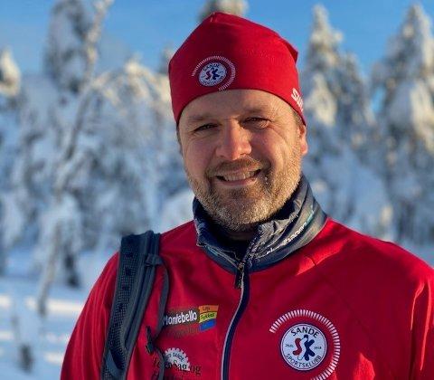 OPTIMIST: Morten Gjessing i Turløyper Vestskauen kan nærmest love skiløyper i helgen, men foreløpig er det usikkert hvor mange løypelaget får kjørt opp.