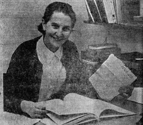 BREV: Ester Rønneseth med siste Amerikabrev.