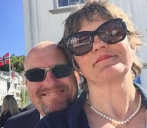 Jan Helstrand og kona Trine Jenssen er ektepar og kommende restaurantkonkurrenter.