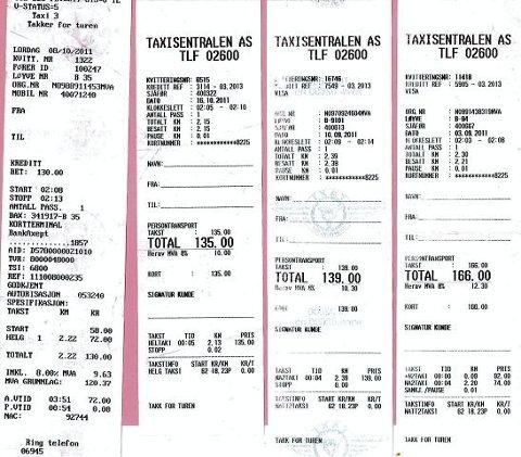 NYTT FORSLAG: Samferdselsdepartementet vil at taxikundene skal få vite prisen før du går inn i drosjene.