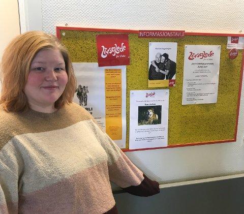 Ønsker seg frivillige: Elisabeth Strand Vassbakk håper mange frivillige tar kontakt med Ellas Minne bo- og rehabiliteringssenter.