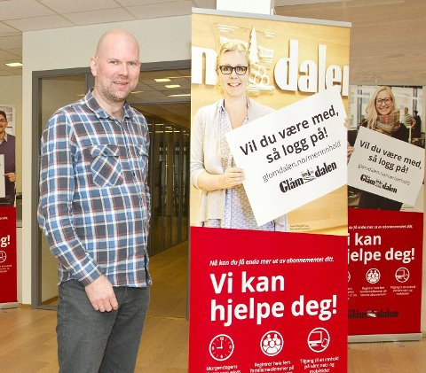 Stopper ikke: Posten stopper sin avisdistribujson - men Glåmdalen stopper ikke. Ansvarlig redaktør, Thor-Sørum Johansen, forteller at det jobbes hardt for at så få som mulig skal rammes.