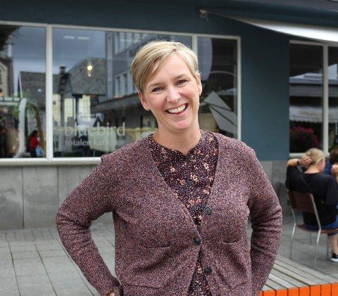 MER UNGDOM:  Aida Breistein slutter som daglig leder av Totalen kafé.