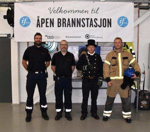 Brannvernuka avsluttes med åpen brannstasjon lørdag.