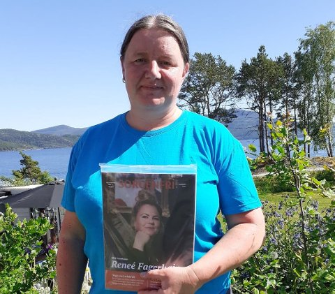 Anita Walstad, Sorgenfri-selger og spaltist