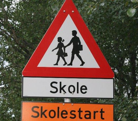 VÆR OBS: Flere trafikale tiltak settes inn ved skolestart for å sørge for en trygg skolevei for alle Oslos elever. Arkivfoto