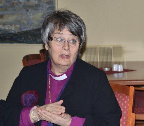Biskop Solveig Fiske
