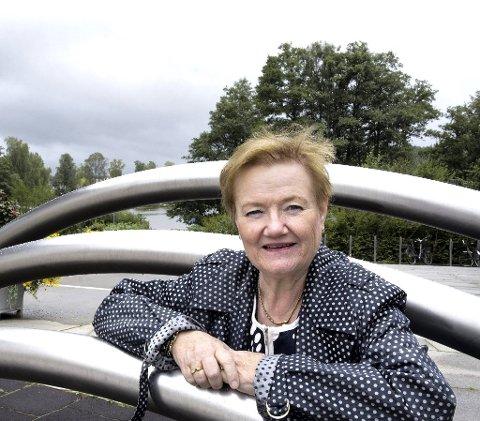 STØTTER: Tidligere Oppegård-ordfører Sylvi Graham (H) gir sin uforbeholdne støtte til et Høyre/Ap-samarbeid i Nordre Follo. Arkivfoto: Kari Kløvstad