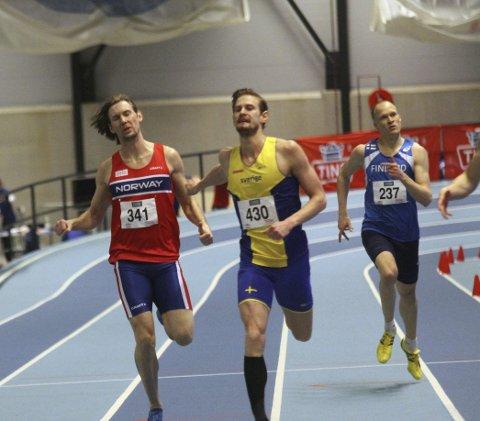 Nummer 6: Samme plass ble det på bror Mauritz på 400 m.