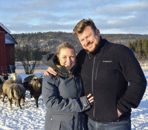 AMORS PILER TRAFF BLINK: Erik Grytnes (38) og Maria Bjørndal (35) fant hverandre via «Jakten på kjærligheten». Foto: Linda Hansen