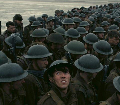 Krigsdrama: «Dunkirk» er både kritiker- og publikumsfavoritt.