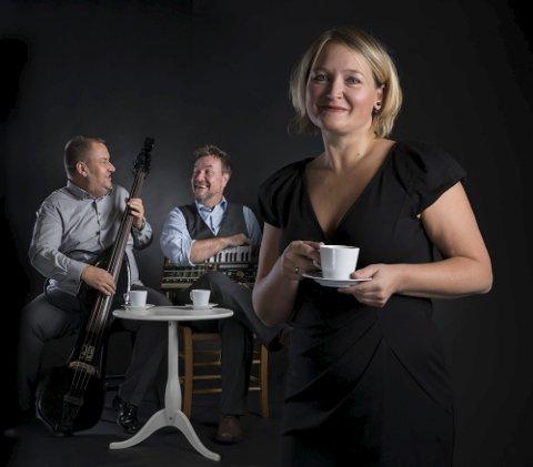Signes Familieselskab er en trio fra Skien som består av ekteparet Signe og Jan David Norrmann – i tillegg til Harald Norrman. Foto: Privat