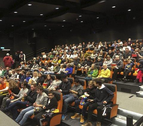 FULL SAL: Det er en stund siden det har sett slik ut i Notodden kino. De neste to-ukene vil kinosalene stå tomme.