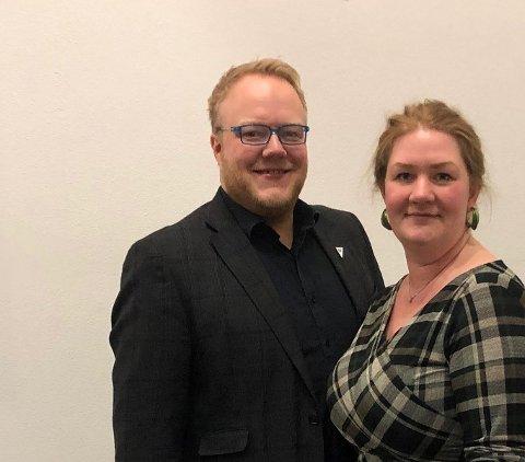 Bjørnar Tollan Jordet og Anne Lise Fredlund