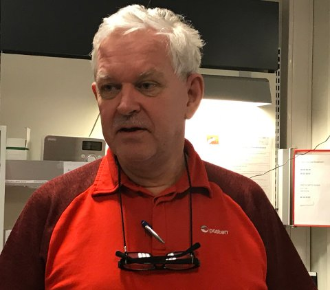 Trond Rindsem, daglig leder på posthuset i Bodø.