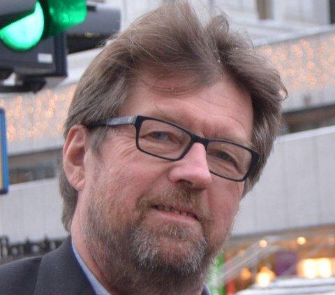 Morten Braarud er leder for Øvre Eiker Fibernett.