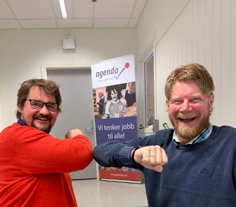 Espen Lund og Kenneth Jenssen, Agenda AS
