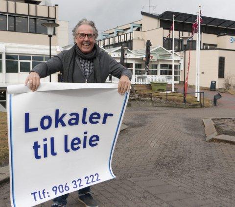 VIL FYLLE OPP: Kjell Fiskerud (69) har satt seg fore å fylle ledige butikk- og kontorlokaler i Gågata i løpet av det kommende året. – Hele byen vil nyte godt av at denne delen av sentrum får ny aktivitet, sier han.