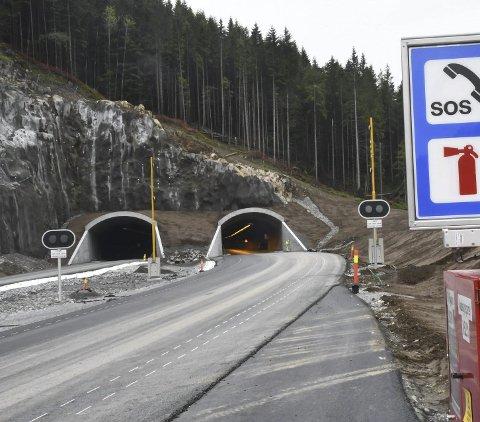 Nye Veier vil videreføre firefelts E18 fra Fløyheia tunnel i Tvedestrand og østover.
