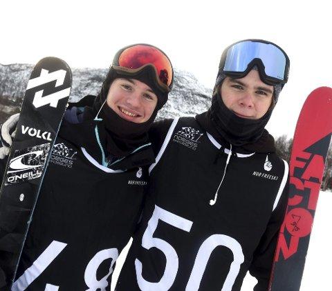 HÅP: Henning H. Pytte (t.h.) og Trym Sunde Andreassen.