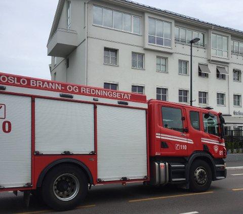 ØVELSE: Søndag kan det bli flere brannbiler å se på farten enn vanlig. Arkivfoto: Nina Schyberg Olsen