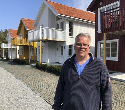 Leif Flemming Bakke: Er ikke overrasket over at de sjønære hyttene i Hanthosundet har vært lette å selge.