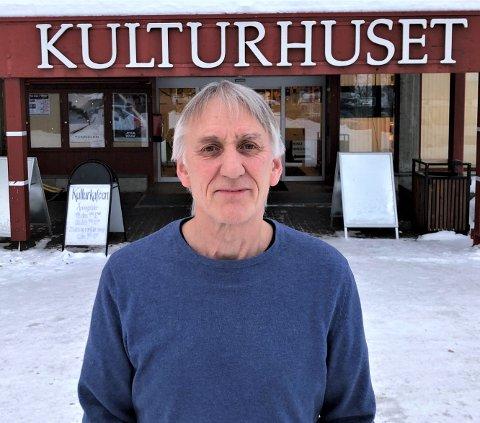 TAKKER FOR SEG: Et halvår til er Steinar Brekken kulturhusleder i Tynset. Så er det klart for pensjonstilværelsen.