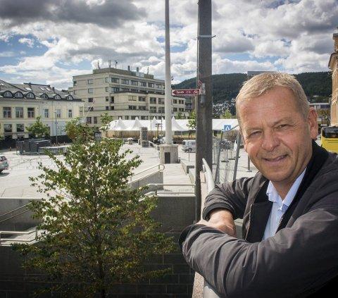 KJENNER SEG IKKE IGJEN: Daglig leder i Byen Vår Drammen, Tom Søgård, mener vinkelen på Simon S. Nordangers kritiske debattinnlegg om Byen Vår Drammen er langt fra virkeligheten.