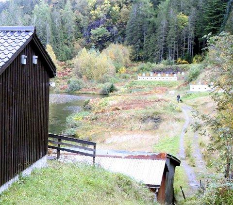 TUNGMETALL: Over 150 år med skyting frå bana ved Likkevatnet kan ha sett sine spor også når det gjeld forureining.