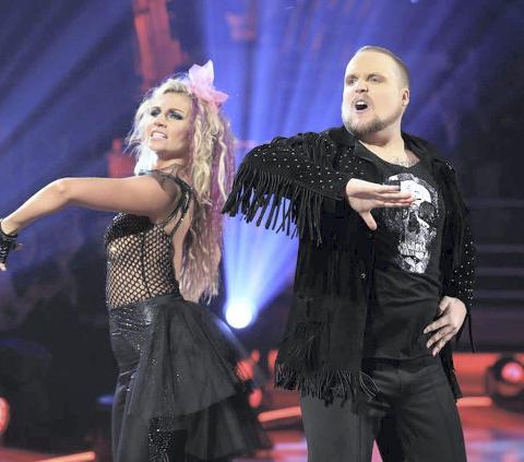 Stian «Staysman» Thorbjørnsen og dansepartneren Alexandra Kakurina har fått et godt forhold. Her under en av oppvisningene tidligere denne måneden.
