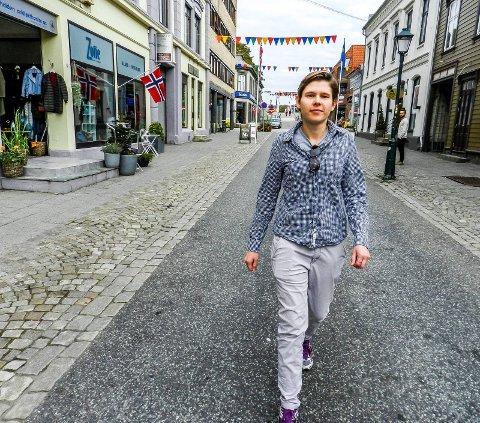 REAGERER: Marianne Kristensensier hun er født lesbisk og er i dag lykkelig gift.