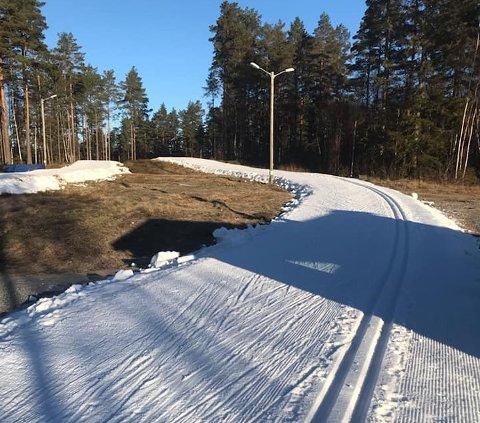 Flotte forhold i skianlegget på Erte.