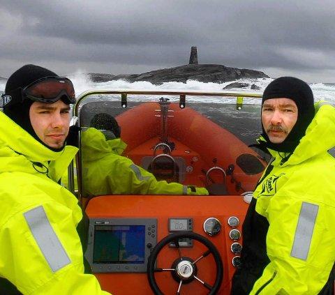 SAMARBEID: Kristian Olsen og Trond Olsen i Seløy Kystferie håper samarbeidet med Helgeland Opplevelser og Adventure Helgeland skal sørge for enda flere turister.
