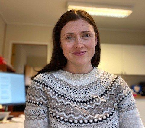 Lisbeth Nilsen Stensletten (32) er styreleiar i nystifta Husnes Næringspark AS.