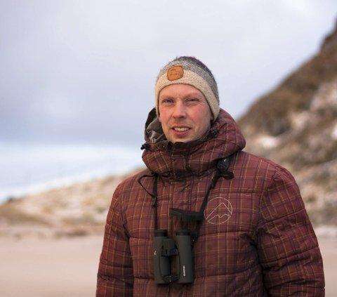 Rotteplage: Leder Martin Eggen i Naturvernforbundet i Lofoten utelukker ikke at rotter er en trussel mot sjøfuglbestanden på Røst.