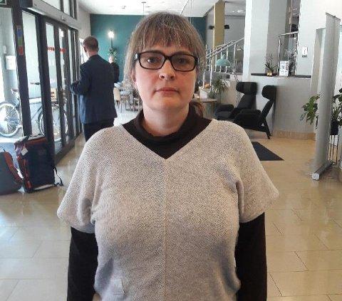 LURT: Jenny Fagerheim føler seg lurt av Vestvågøy Venstre