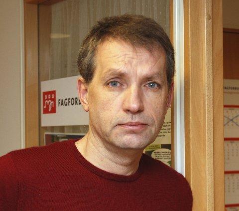 Leif Christensen, leder i Østfold SV.